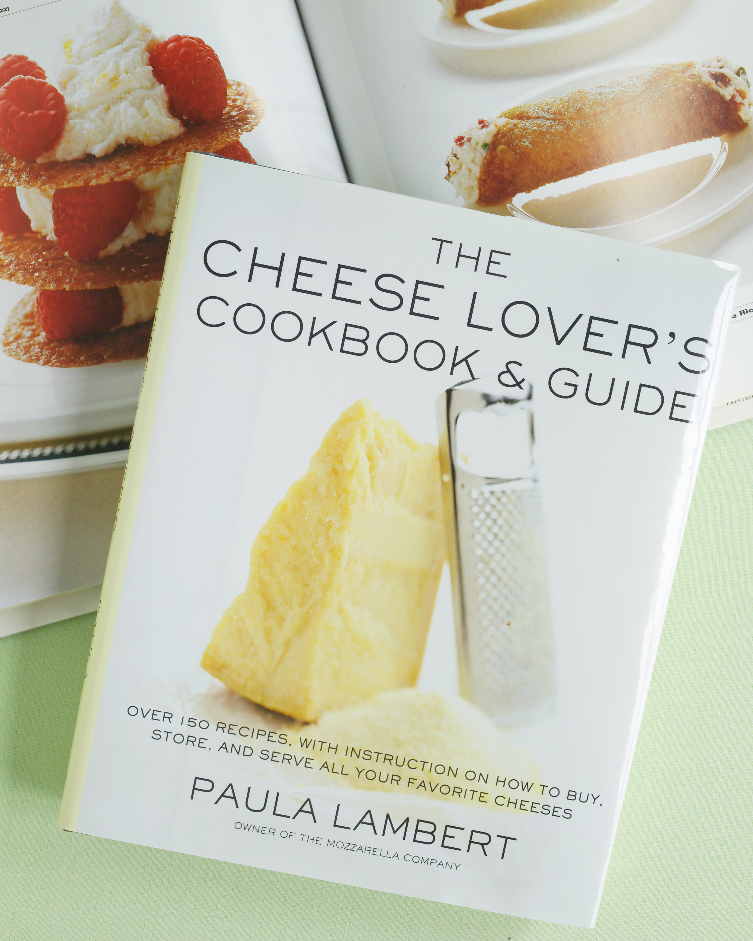 Cheese Lover's Cookbook & Guide